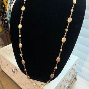 Lia Sophia Antiqued goldtone layering necklace